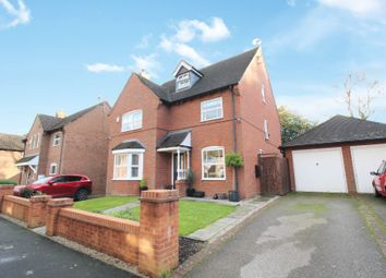 Thumbnail 4 bed detached house for sale in Meadow Pleck Lane, Shirley, Solihull