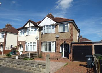 Thumbnail 3 bed semi-detached house for sale in Laburnum Grove, Whitby, Ellesmere Port