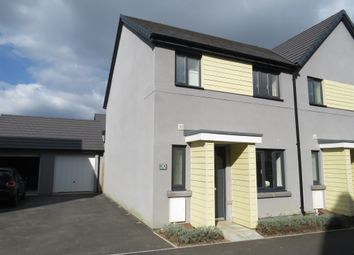 Thumbnail 3 bed semi-detached house for sale in Kilmar Street, Plymstock, Plymouth