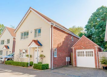 Thumbnail 4 bed detached house for sale in Summer Close, Norwich, Norfolk