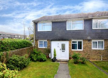 Thumbnail 3 bed end terrace house for sale in Downland Drive, Crawley