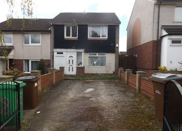 Thumbnail 3 bed end terrace house to rent in Hungerhill Road, Nottingham