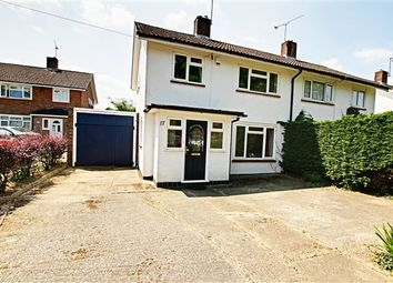 Thumbnail 3 bed semi-detached house for sale in Findon Road, Ifield, Crawley
