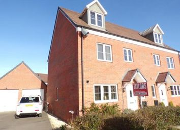 Thumbnail 4 bed semi-detached house for sale in York Way, Harlestone Manor, Northampton, Northamptonshire