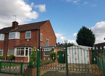 Thumbnail 3 bed semi-detached house for sale in Hall Lane, Manchester, Greater Manchester