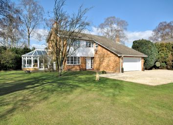 Thumbnail 4 bed detached house for sale in The Birches, South Wootton, King's Lynn