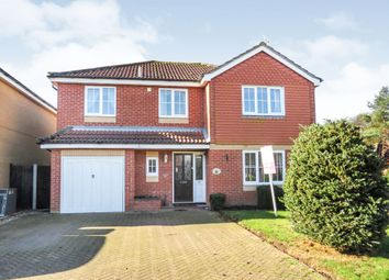 Thumbnail 4 bedroom detached house for sale in Long Barrow Drive, North Walsham