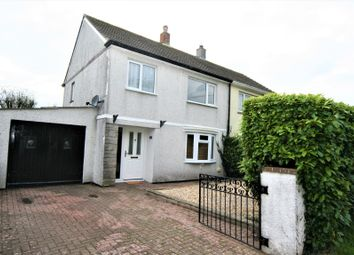 Thumbnail 3 bed semi-detached house to rent in Hillcrest, Shortlanesend, Truro