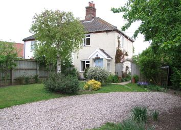 Thumbnail 2 bed semi-detached house for sale in Donkey Lane, Friston, Saxmundham