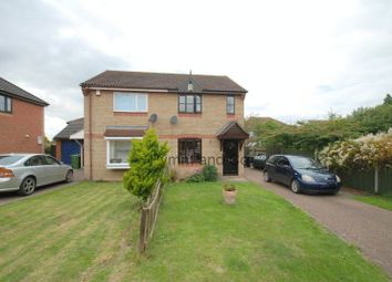 Thumbnail 2 bedroom semi-detached house to rent in St. Nicholas Close, Long Stratton, Norwich