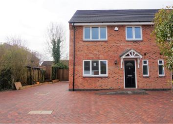 Thumbnail Semi-detached house for sale in Glen Parva, Leicester
