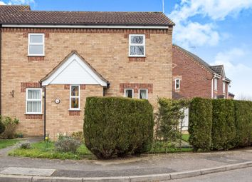 Thumbnail 3 bed end terrace house for sale in Levers Close, King's Lynn