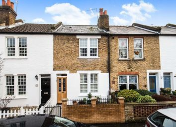 Thumbnail 2 bed terraced house for sale in York Road, Teddington