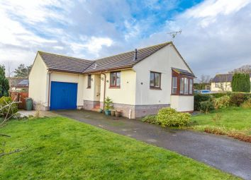 Thumbnail 2 bed detached bungalow for sale in Fernworthy Gardens, Copplestone, Crediton