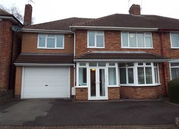 Thumbnail 4 bed semi-detached house to rent in Englefield Road, Leicester