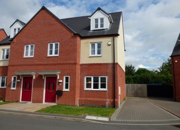 Thumbnail 3 bed semi-detached house to rent in Lockley Gardens, Sapcote