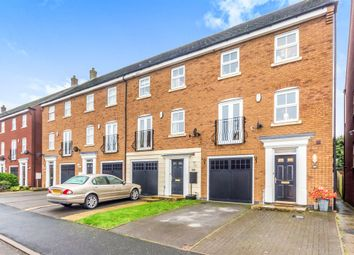 Thumbnail 4 bedroom town house for sale in Attingham Drive, Dudley