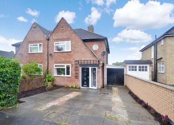 Thumbnail 3 bedroom semi-detached house for sale in Bollington Road, Oadby, Leicester