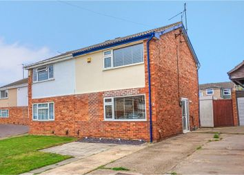 Thumbnail 3 bed semi-detached house for sale in Franciscan Close, Rushden