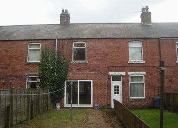 Thumbnail 3 bed terraced house to rent in Plantation Terrace, Fir Tree, Crook