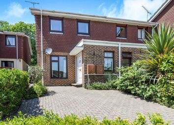 Thumbnail 3 bed end terrace house for sale in Cedar Close, Kings Worthy, Winchester