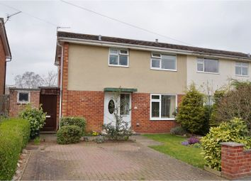 Thumbnail 3 bed semi-detached house for sale in Woodfield Avenue, Lincoln