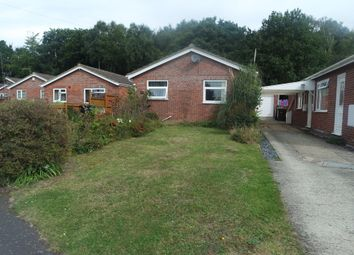Thumbnail 3 bedroom detached bungalow for sale in Cawstons Meadow, Poringland, Norwich
