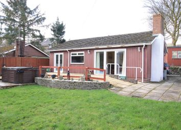 Thumbnail 2 bed detached bungalow for sale in Trecastle, Brecon