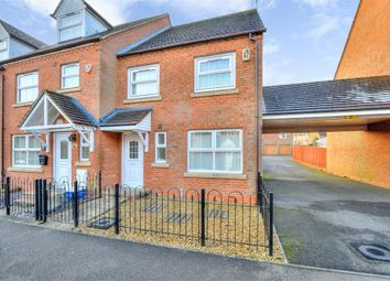 Thumbnail 3 bed end terrace house for sale in Colossus Way, Bletchley, Milton Keynes, Buckinghamshire
