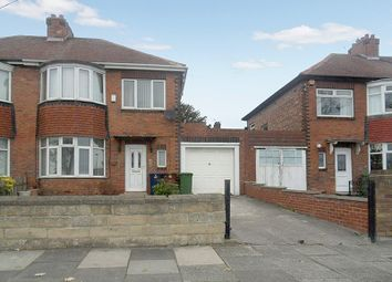 Thumbnail 3 bedroom semi-detached house for sale in Coast Road, High Heaton, Newcastle Upon Tyne