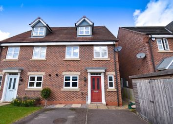 Thumbnail 4 bed semi-detached house to rent in Walter Close, Great Glen, Leicester