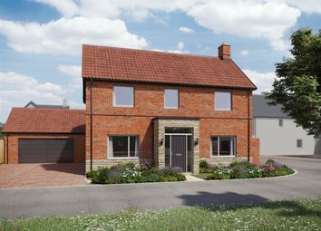 Thumbnail 4 bed detached house for sale in Newland Orchard, School Lane, Whitminster, Gloucester