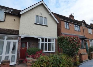 Thumbnail 3 bed end terrace house for sale in Gaddesby Road, Birmingham, West Midlands