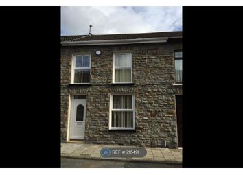 Thumbnail 3 bed terraced house to rent in Maindy Road, Pentre