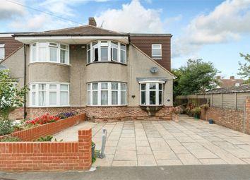 Thumbnail 4 bed semi-detached house for sale in Oaks Avenue, Feltham, Greater London