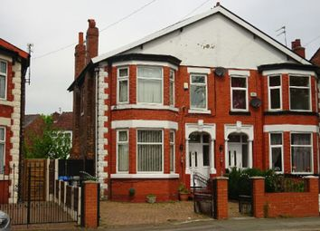 Thumbnail 3 bed semi-detached house for sale in Upper Chorlton Road, Old Trafford, Manchester