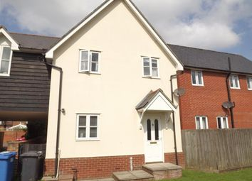 Thumbnail 2 bed town house to rent in Brickfield Close, Ipswich