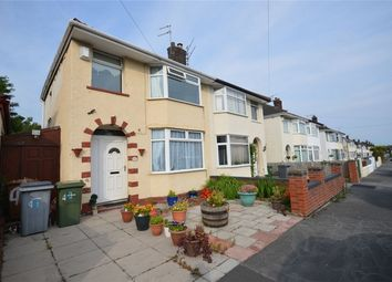 Thumbnail 3 bed semi-detached house for sale in Eccleshall Road, Port Sunlight, Merseyside