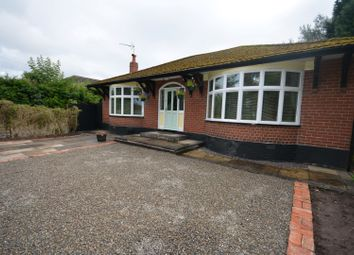 Thumbnail 2 bed detached bungalow for sale in Newcastle Road, Hough