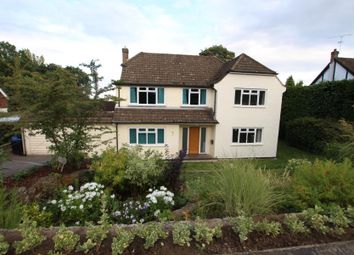 Thumbnail 4 bed detached house to rent in Hurst Close, Hook Heath, Woking