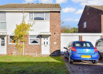 Thumbnail 2 bed semi-detached house for sale in Sassoon Close, Larkfield, Aylesford, Kent