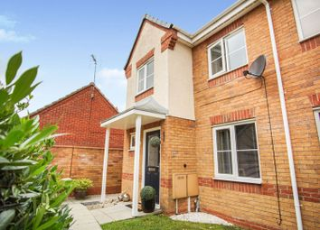 Thumbnail 3 bed semi-detached house for sale in Haddon Close, Leicester