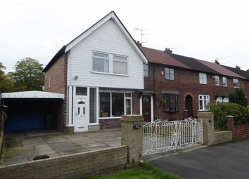 Thumbnail 3 bed end terrace house for sale in Orchard Road West, Manchester