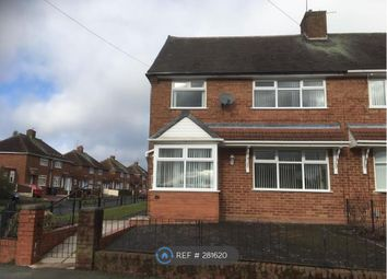 Thumbnail 3 bed semi-detached house to rent in Raven Crescent, Wolverhampton