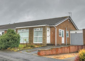 Thumbnail 2 bed bungalow for sale in Kidderminster Drive, Chapel Park, Newcastle Upon Tyne
