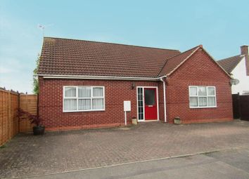 Thumbnail 3 bedroom detached bungalow for sale in Beech Road, Blaby, Leicester