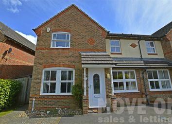 Thumbnail 3 bed semi-detached house to rent in Everdene Close, Ferndown, Dorset
