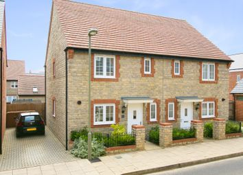 Thumbnail 3 bed semi-detached house for sale in Ascot Way, Chesterton, Bicester