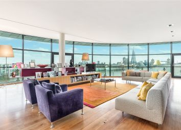 Cinnabar Wharf East, 28 Wapping High Street, London E1W. 2 bed flat for sale