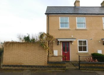 Thumbnail 2 bed end terrace house for sale in Three Tuns Close, Arlesey, Beds